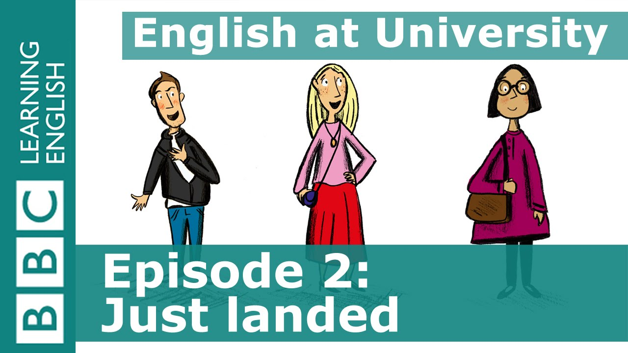 English at University: 2 - Learn phrases about asking for directions