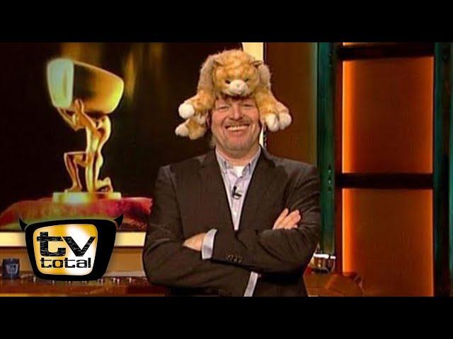 Katzen-Angriff auf Stefan Raab - TV total