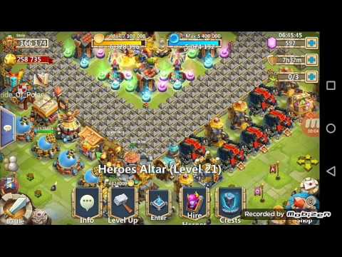 Castle Clash Heroes Overview: Team For Guild Boss 5