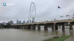 Cold front drops temperatures by 39 degrees, drenches Dallas-Fort Worth with rain