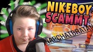 Nikeboy SCAMMT Accounts seiner ZUSCHAUER 🚫💸