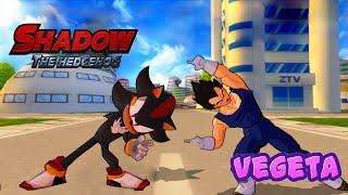 Shadow and Vegeta FUSION  Shageta The Saiyan Hedgehog  DBZ Tenkaichi 3 MOD