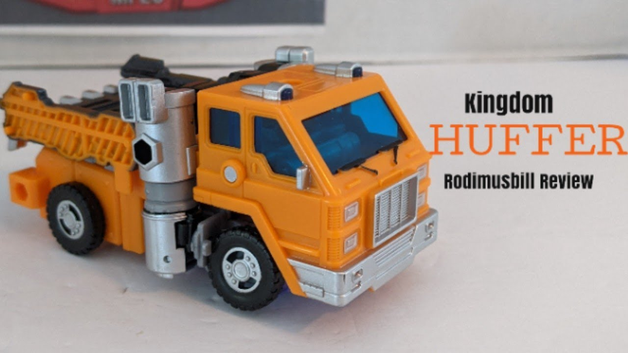 Kingdom Deluxe HUFFER Transformers WFC Review by Rodimusbill
