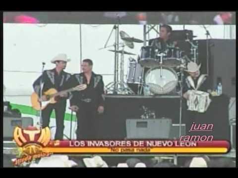 LOS INVASORES DE NUEVO LEON '' No Pasa Nada '' - YouTube - photo#35