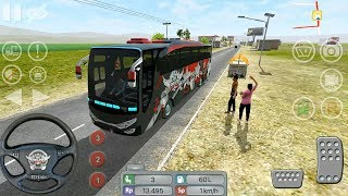 Bus Simulator Indonesia #8 - Bus Driver Sim - Android Gameplay FHD