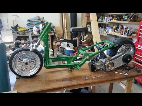 Gy6 Honda Ruckus Build Part 1