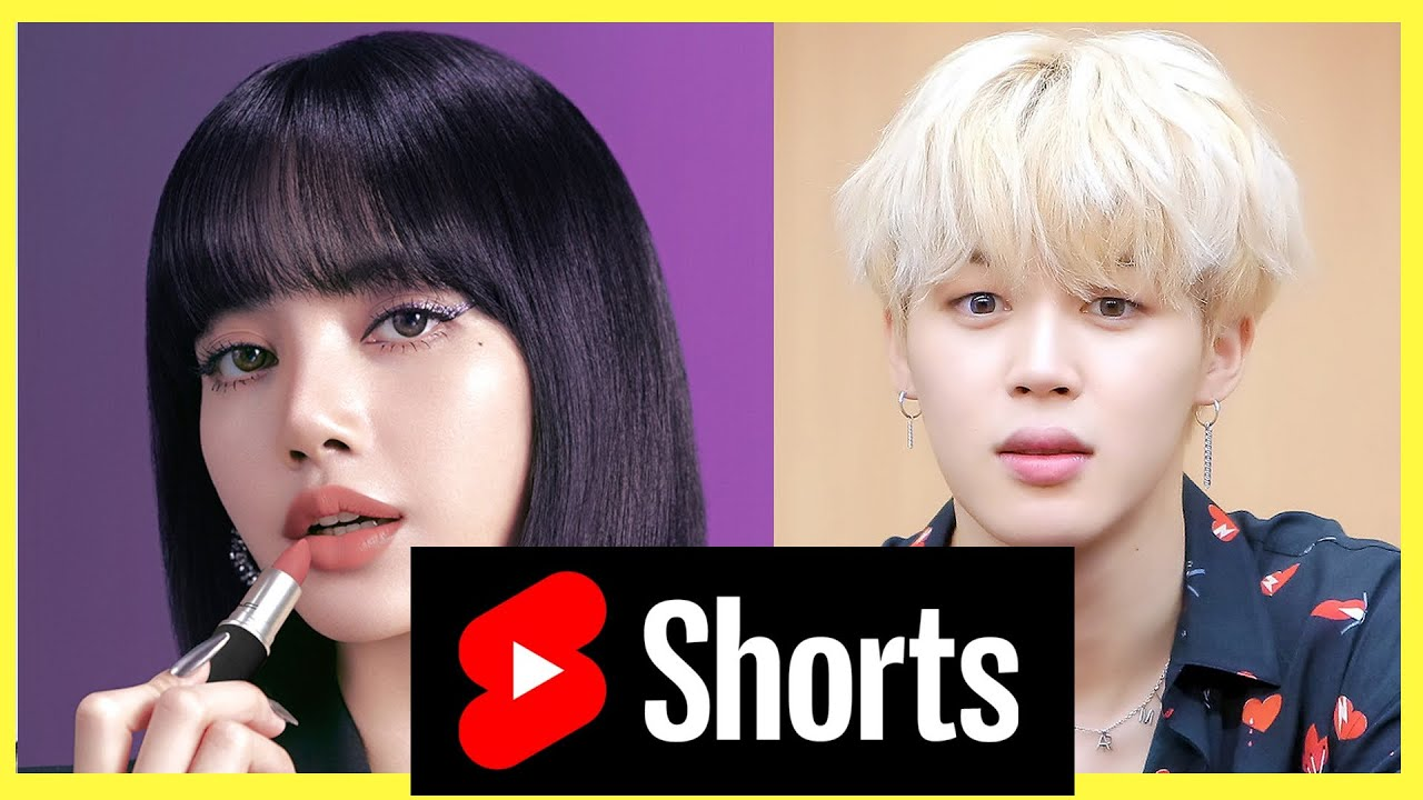 I mixed Jimin (BTS) and Lisa (Blackpink) and found out a really pretty girl! Suggest a name#shorts