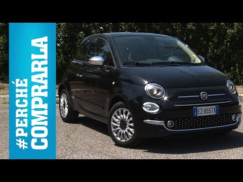 Fiat 500 restyling (2016)| Perché comprarla... e perché no