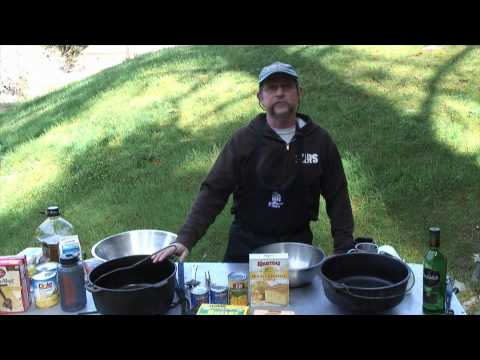 How To Cook Dessert in a Dutch Oven on a River Trip