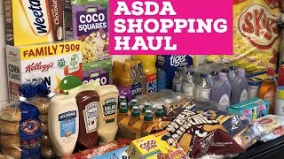 ASDA HUGE  SHOPPING HAUL (GUESS THE PRICE)