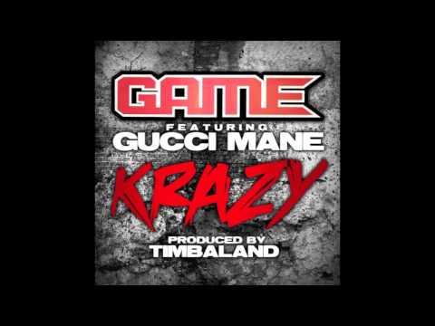 "Game feat. Gucci Mane - ""Krazy"" - Produced by Timbaland - Off The R.E.D. Album - HOT!!! - NEW - 2009"