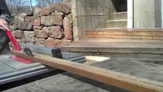 Nick's Reclaimed Bowling Alley Table - Tim Sway Perspectives