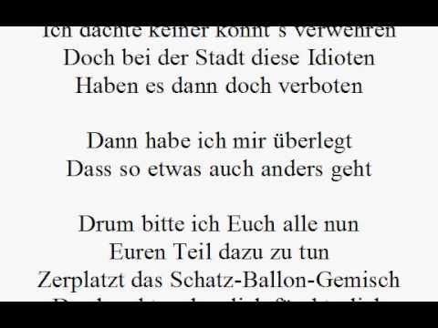 Gedicht Zum 60 Geburtstag 99 Luftballons Geldgeschenk Youtube