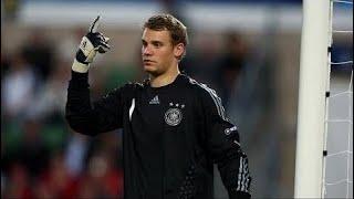 Manuel Neuer - Erstes  Länderspiel 🔴 Deutschland vs Ver. Arab. Emirate  7-2 ✔✔