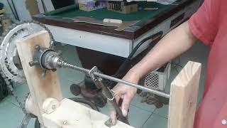 fazendo mola para rifle airsoft caseiro