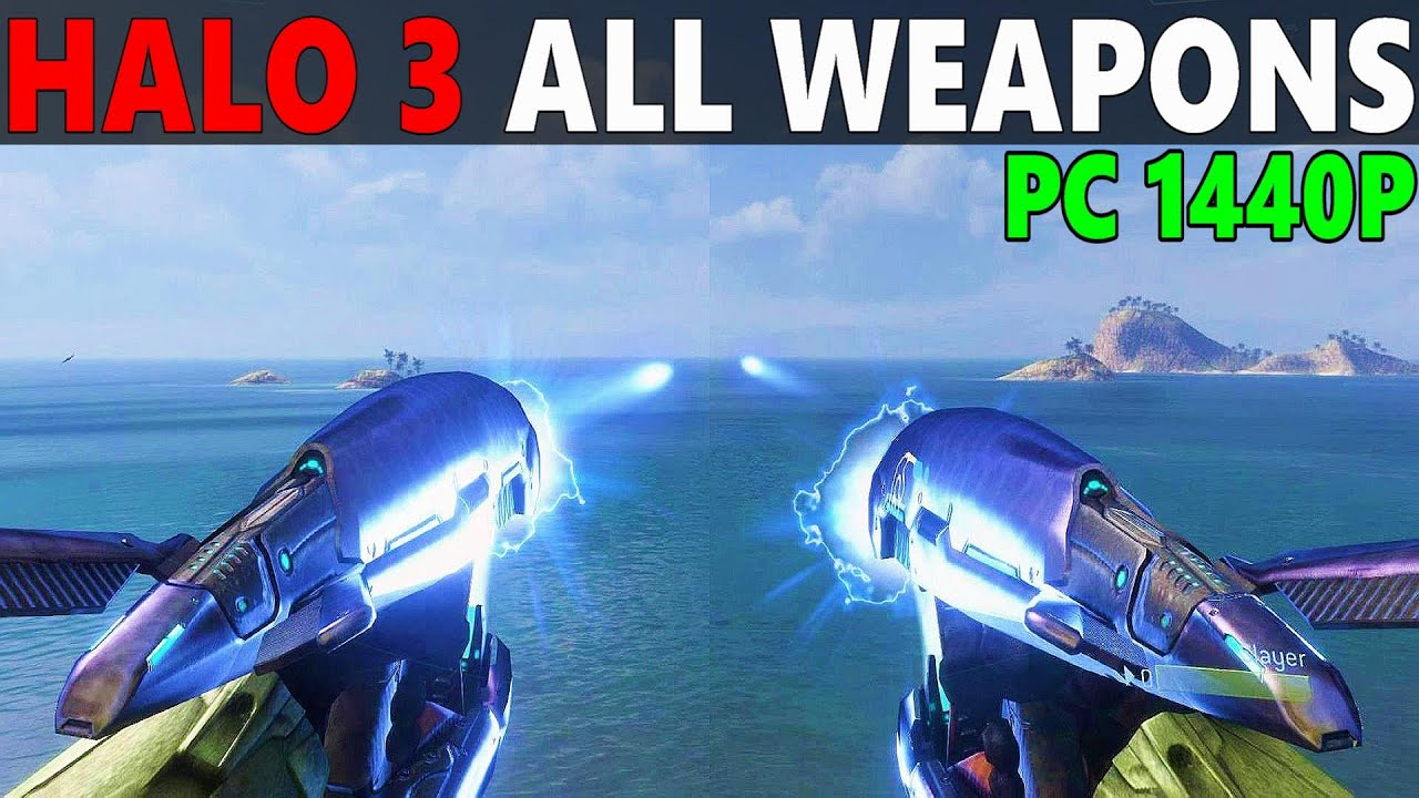 HALO 3 PC - ALL WEAPONS