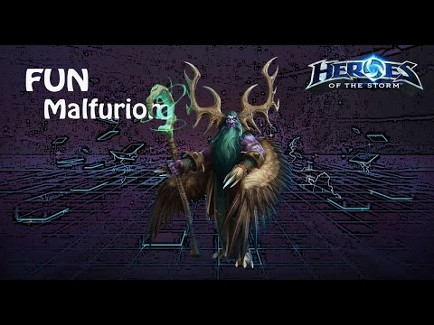видео: heroes of the storm: top 1 eu (5 выпуск) - Малфурион