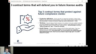 3 Contract terms that will save you in future Oracle License Audits
