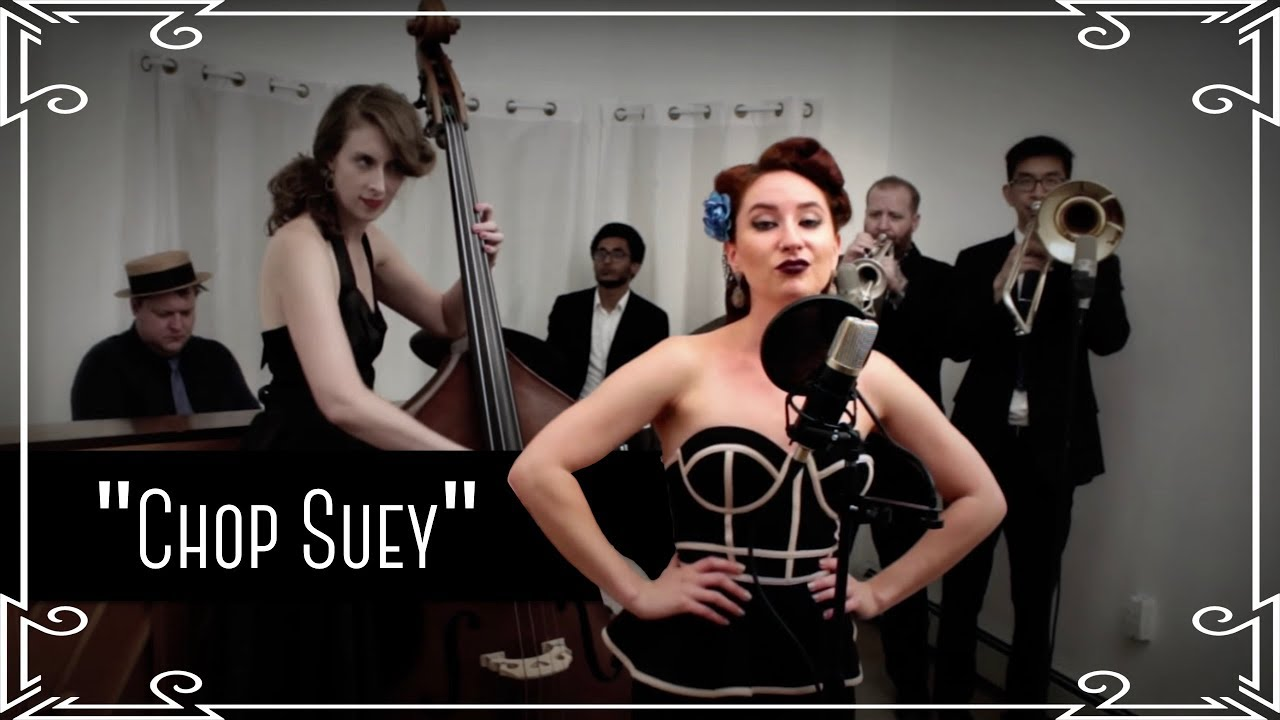 """Chop Suey"" (System of a Down) Jazz Cover by Robyn Adele Anderson #1"