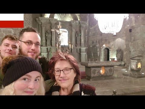 MUST VISIT! AMAZING SALT MINE KRAKOW POLAND