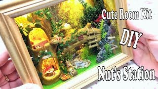 Dollhouse miniature kit- CuteRoom