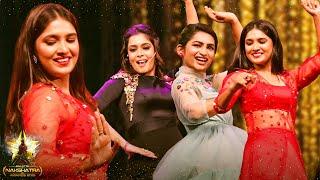 Triple Mass: Vani Bhojan, Nakshatra & Kiki's Marana Kizhi Dance On Stage! Crowd Roars!