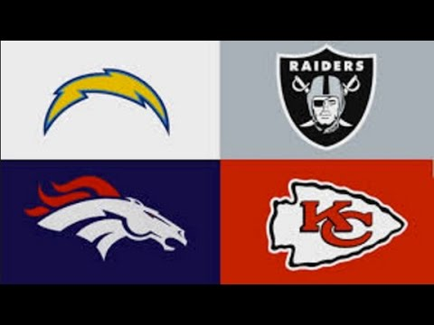 AFC West 2016-2017 Predictions