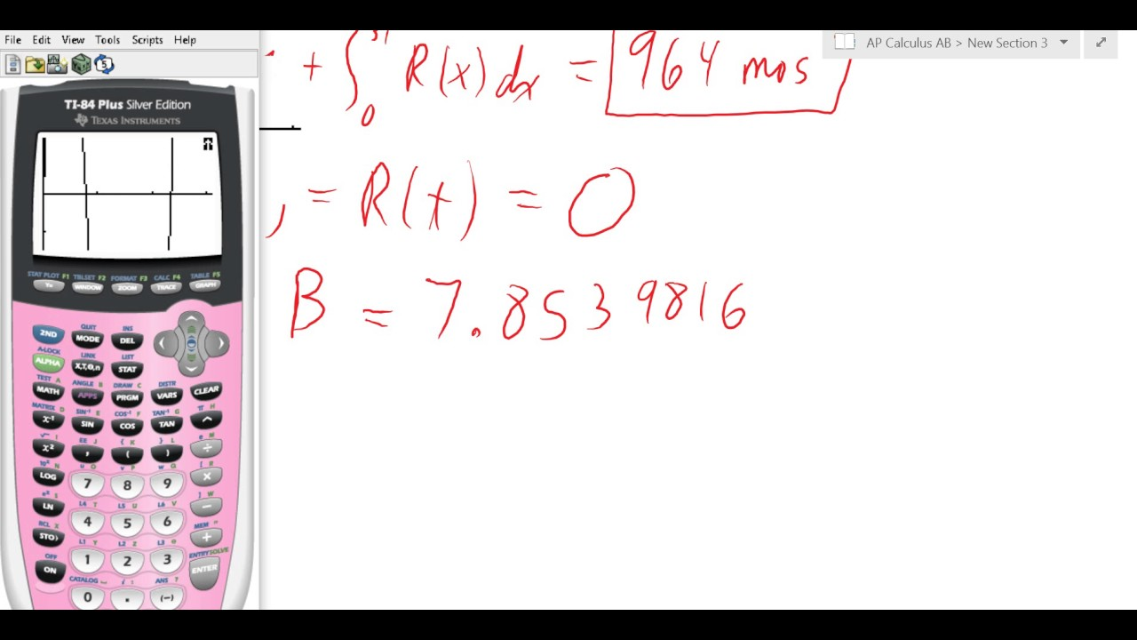 Calc AB 2004 Form B 2 - YouTube