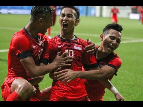 2015 SEA Games Football Group A Cambodia vs Singapore