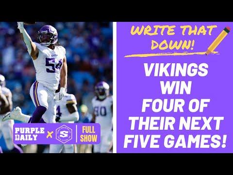 Minnesota Vikings predictions after the bye week!