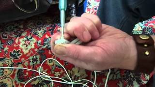 Натяжные потолки. Подготовка провода.(В примере показано, каким образом можно подготавливать провод (пример для установки светильников.), 2013-11-09T11:33:49.000Z)