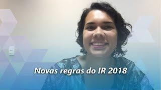 Mudanas nas regras do IR 2018