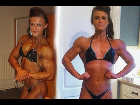 Strongest Teen In The World - Female Body Builder Georgina McConnell