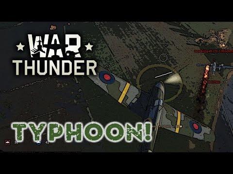 War Thunder - Typhoon - Comparison: War Thunder & World of Tanks