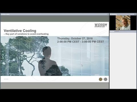 Webinar | Ventilative cooling - A key element in solutions for avoiding overheating