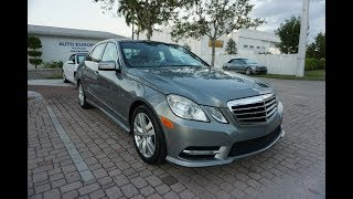 This 2012 Mercedes-Benz E350 BlueTEC Diesel is a Luxurious, Midsized Freight Train