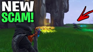 *NEW SCAM* The Sword Dash Scam!😆 (Scammer Get Scammed) Fortnite Save The World