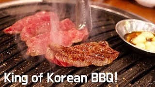 King of Korean BBQ! Best Hanwoo Beef in Seoul Korea