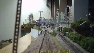 철도 모형 디오라마 주행 영상