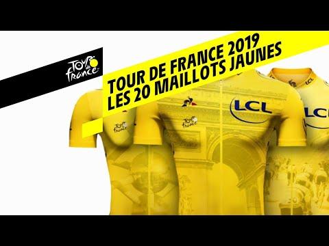 Tour de France 2019 : Les 20 Maillots Jaunes