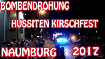 BOMBENDROHUNG AUF DEM HUSSITEN KIRSCHFEST NAUMBURG 2017 - WAS IST PASSIERT!?