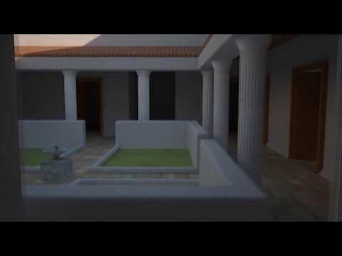 Roman Villa Digitally Reconstructed