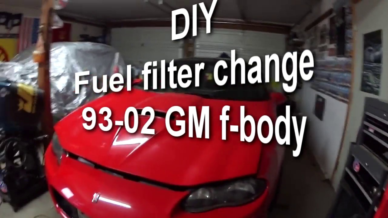 hight resolution of diy how to replace fuel filter on f body camaro firebird