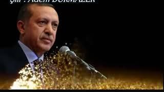 Güzel bir şiir yasin Şahin'in sesine sağlık Recep Tayyip Erdoğan a itafen okumuş ve güzel olmuş .