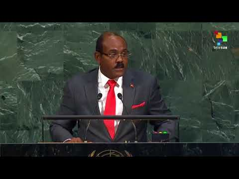 UN Speeches: Prime Minister of Antigua and Barbuda Gaston Br