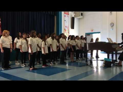 Palms Middle School Chorus Class 2016
