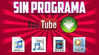 Video como bajar videos de youtube sin programas y sin java download MP3, 3GP, MP4, WEBM, AVI, FLV November 2017