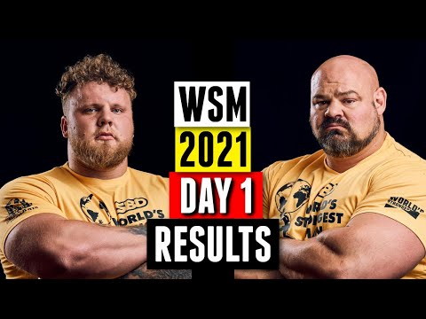 Download World's Strongest Man 2021 Day 1 Results & Recap