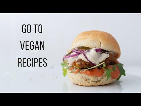 My Go To Vegan Recipes! {EBOOK TRAILER}