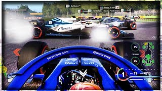 HOLY CARNAGE?! - F1 2018 Online Funny Moments - MY FIRST EVER ONLINE RACES!